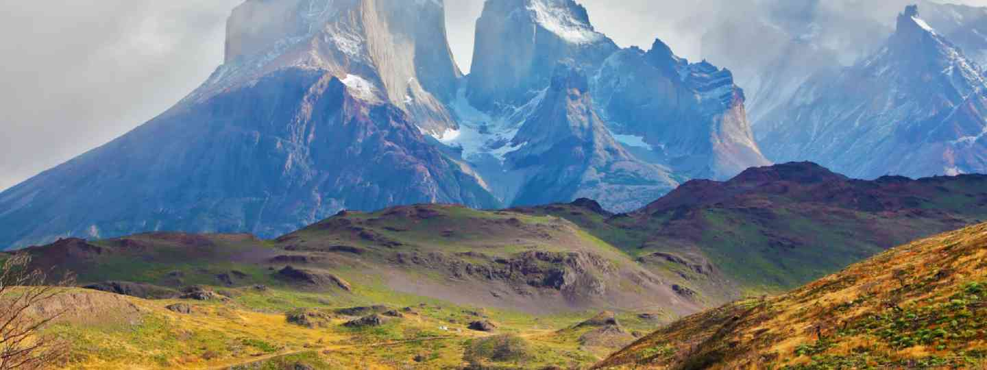 Summer day in National Park Torres del Paine