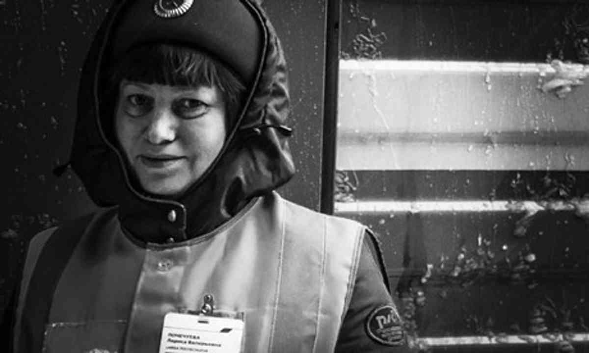 Guard on Trans-Siberian (Matthew Woodward)