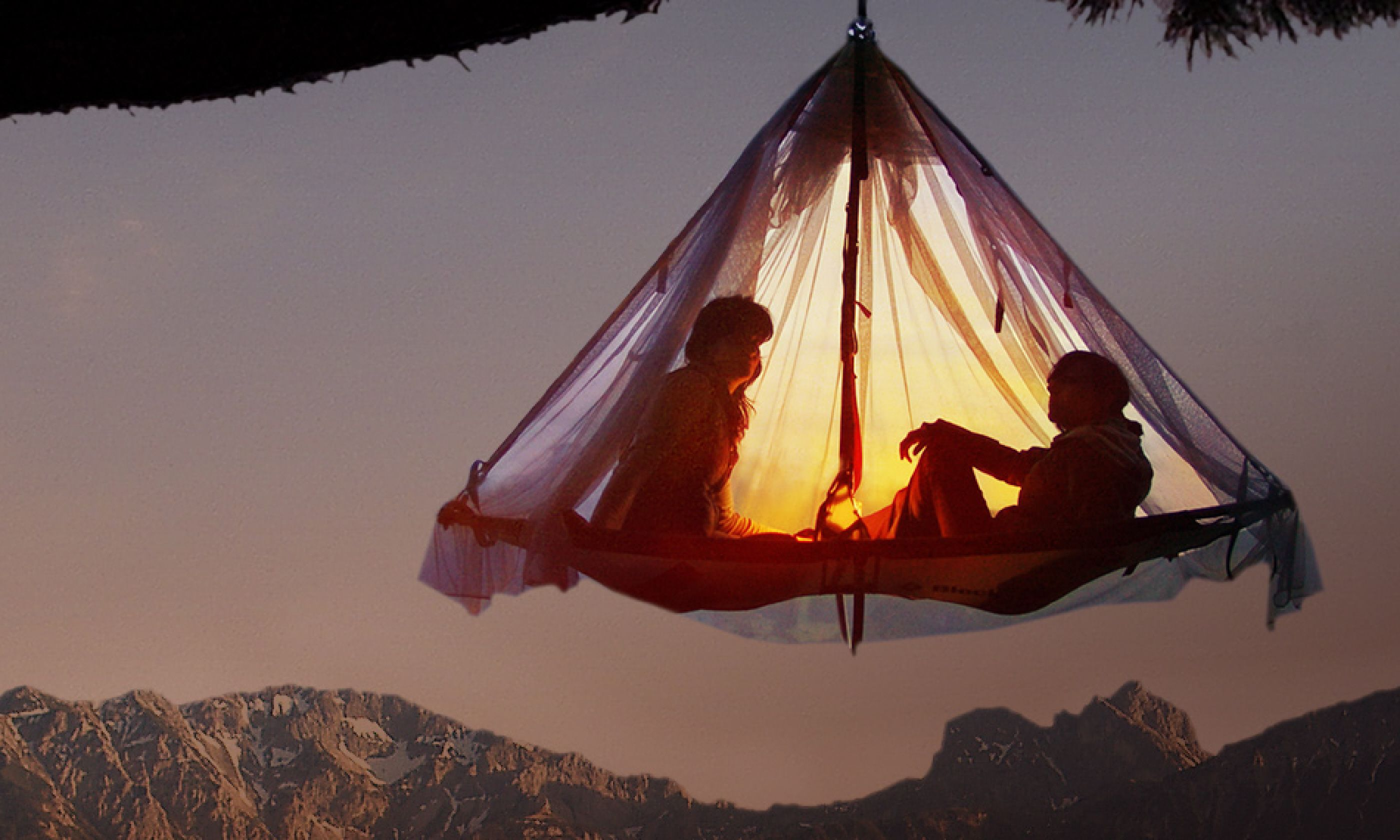Tree camping, Waldseilgarten Hollschlucht (waldseilgarten-hoellschlucht.de)