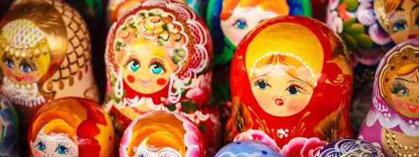 Russian dolls (Shutterstock: see main credit below)