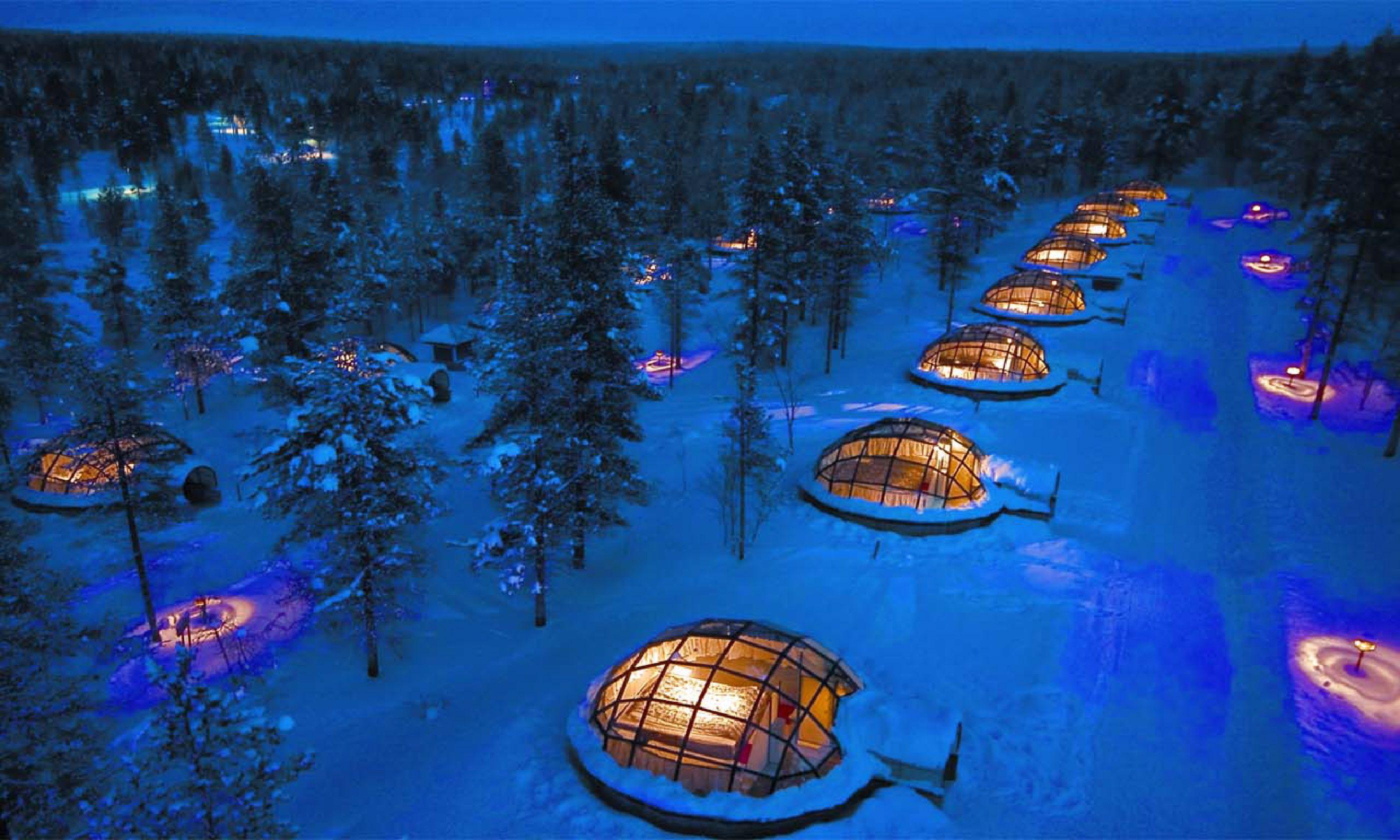 Glass Igloos of Hotel Kakslauttanen (kakslauttanen.fi)