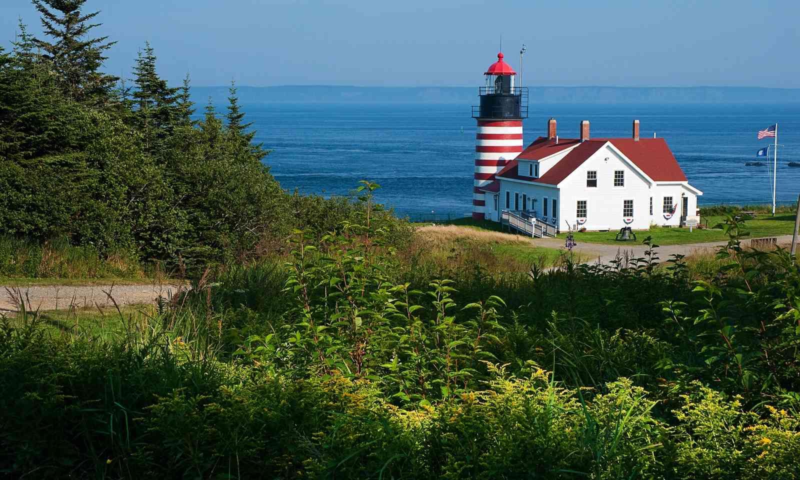 Picturesque Portland Head Lighthouse (Dreamstime)