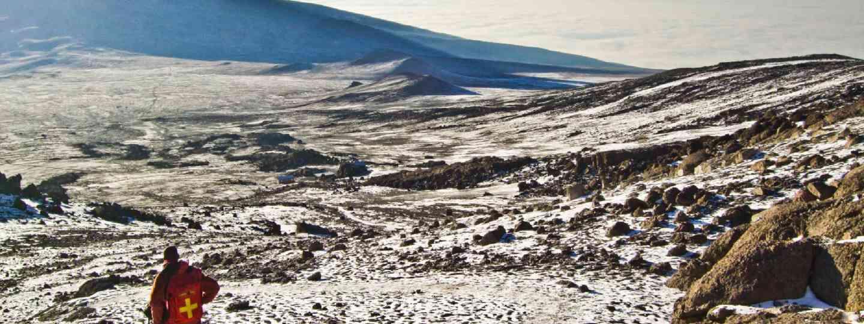Climbing Mt Kilimanjaro (Shutterstock: see credit below)