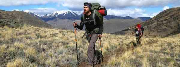 Hikers in Patagonia Park (Graeme Green)