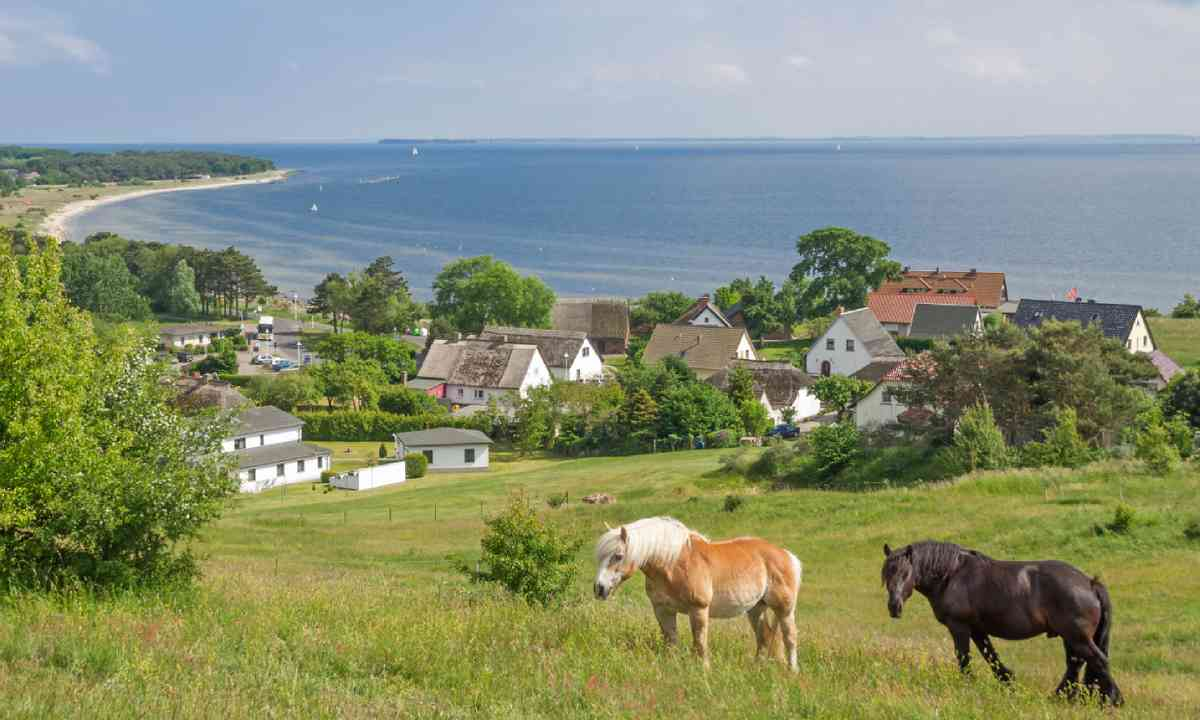 Klein-Zicker at Moenchgut region on Rugen Island (Shutterstock)