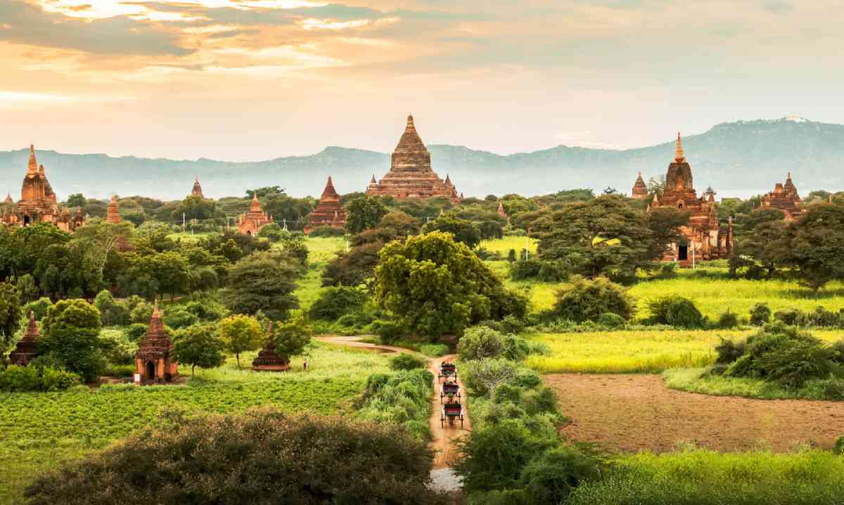 Ancient temples in Bagan, Myanmar (Shutterstock)