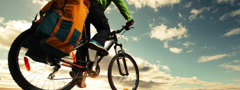 Bike traveller (Shutterstock: see credit below)