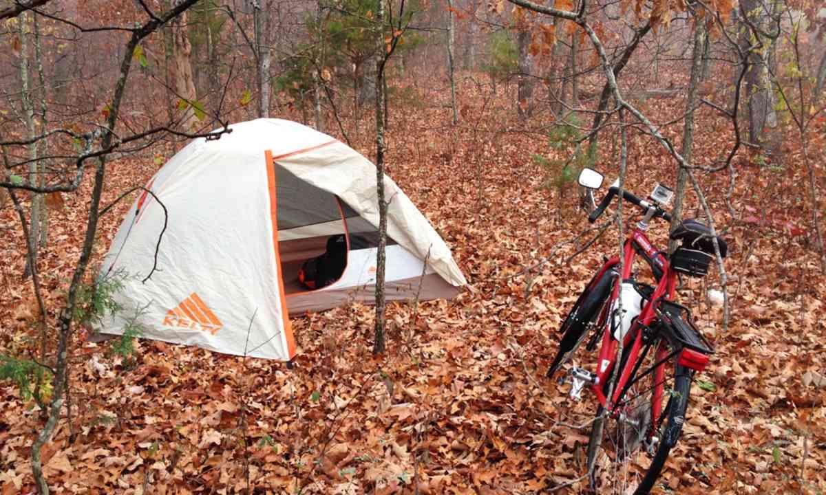 Wild camping USA (Ness Knight)