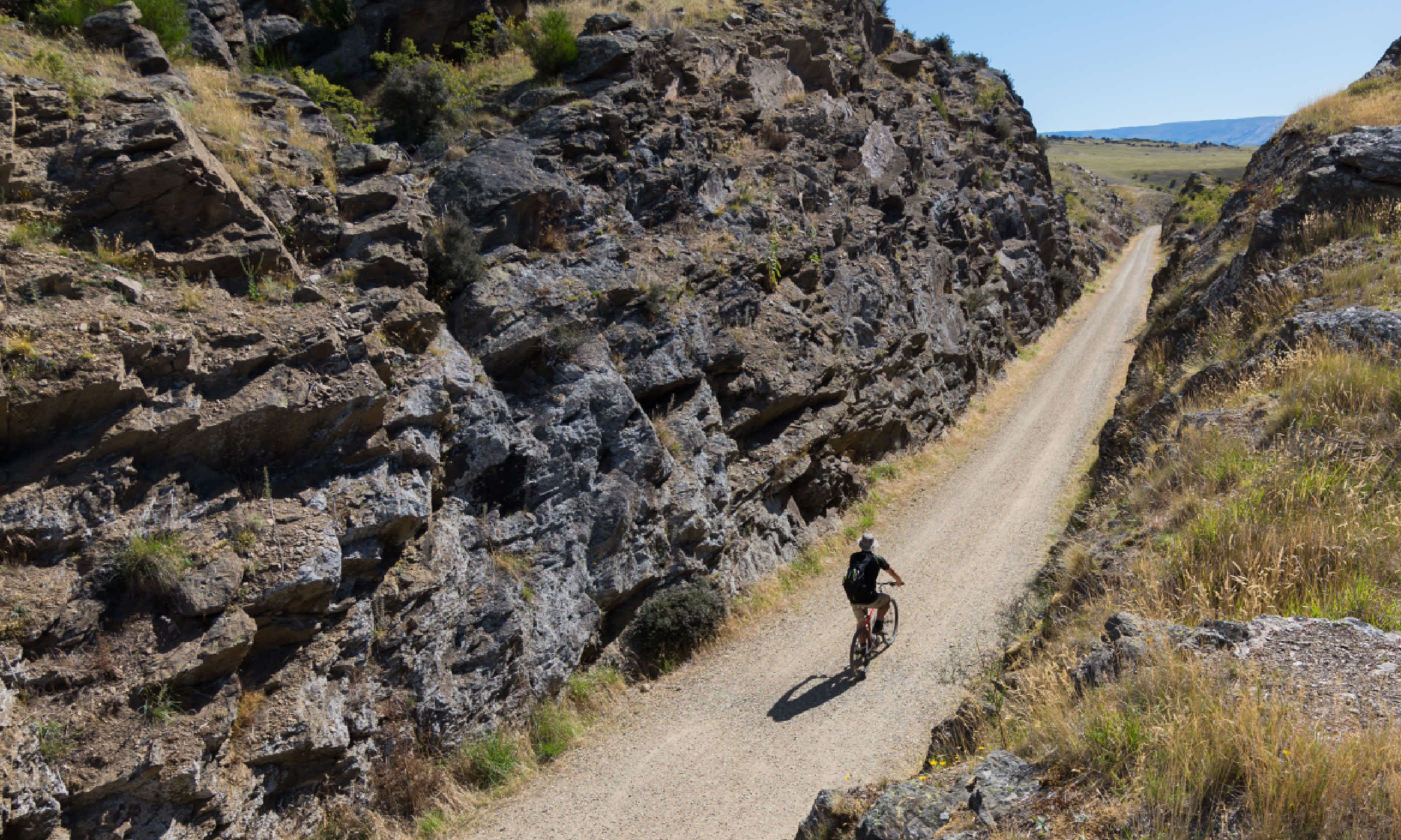 Cycling in the Otago Central Rail Trail (Shutterstock)