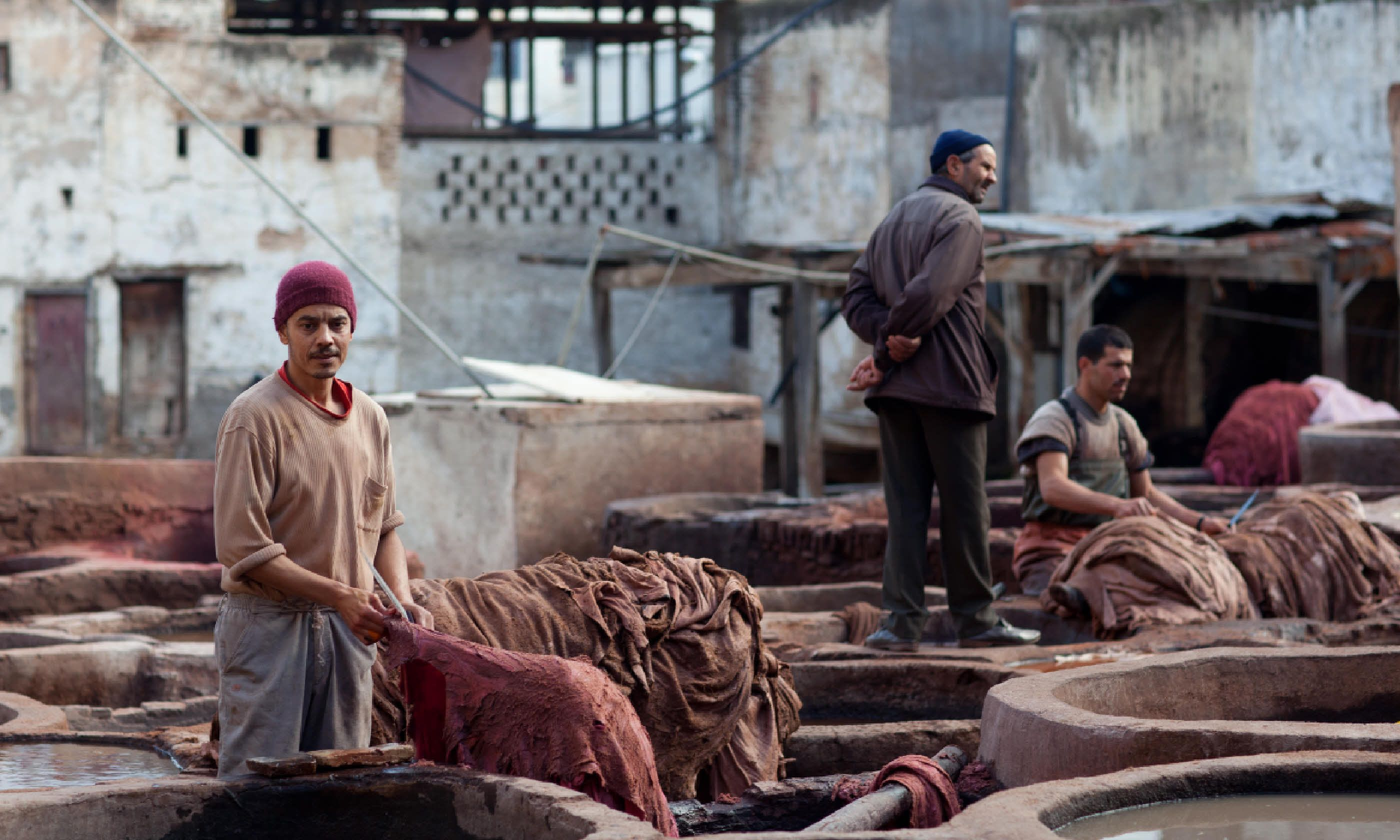 Morocco tannery (Dreamstime)