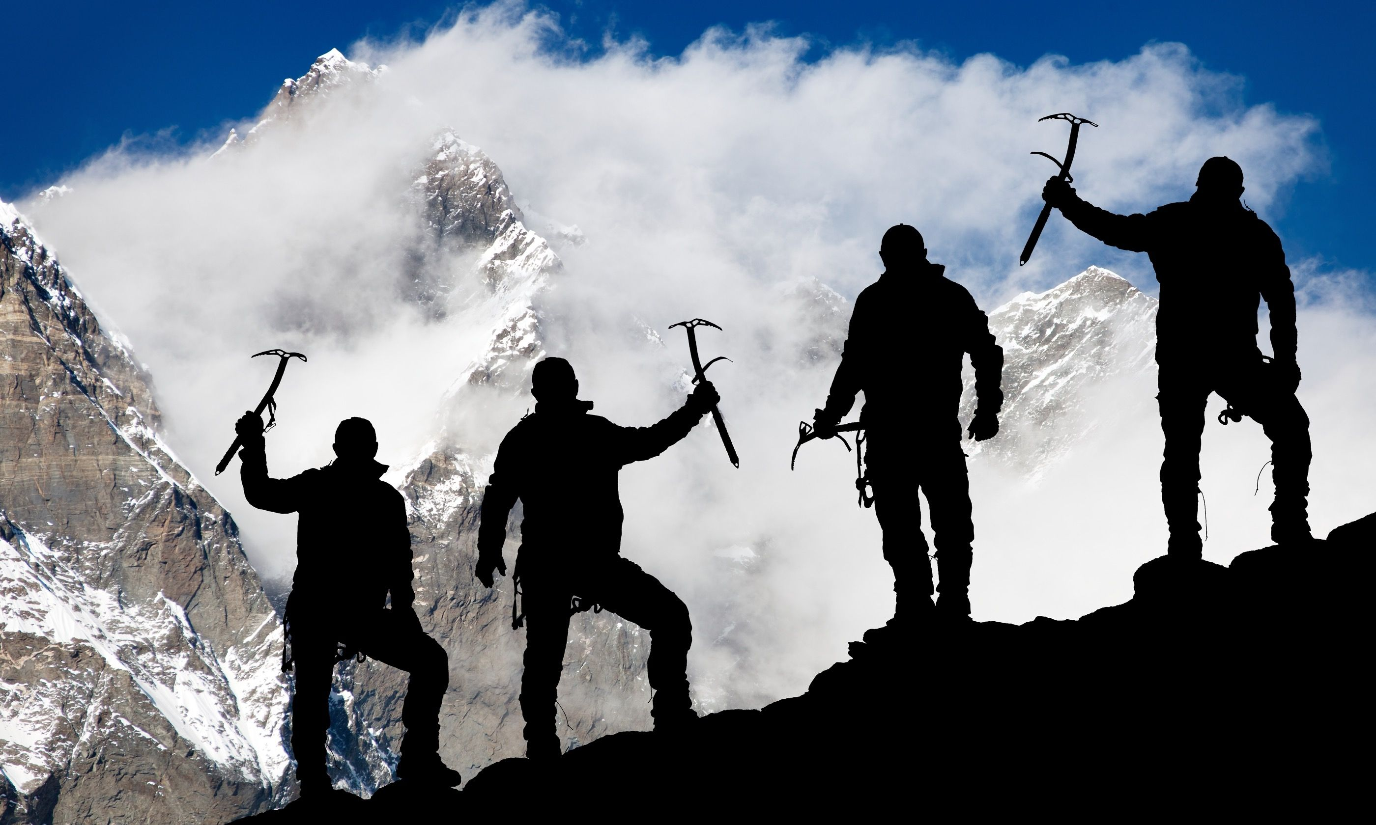 On the way to Base Camp (Shutterstock.com)