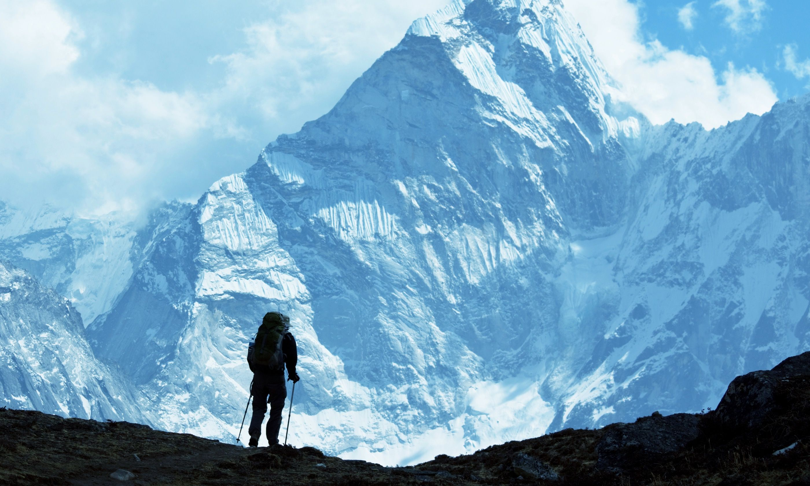 Climber in Himalaya (Shutterstock.com)
