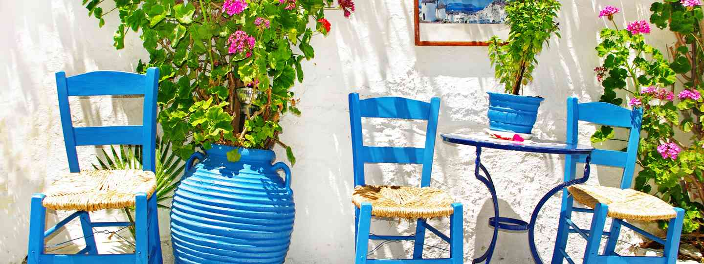 Chairs outside a taverna (Shutterstock: see main credit below)