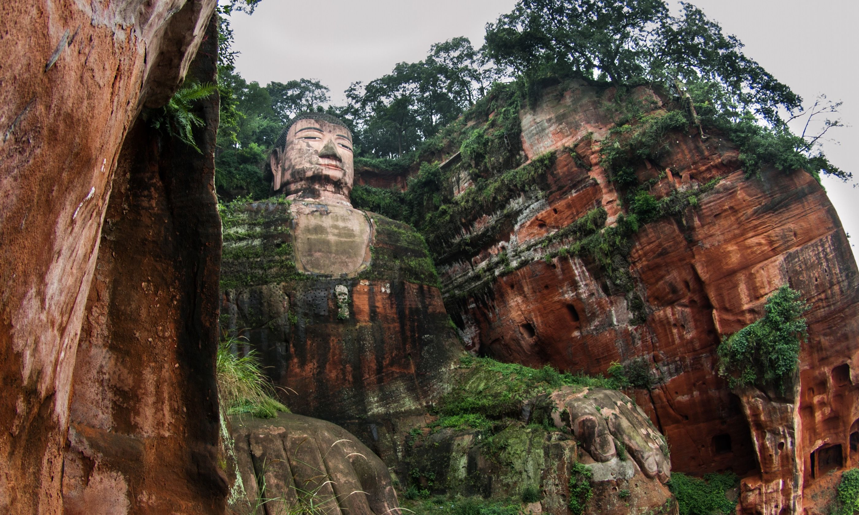 The Giant Buddha in Leshan (Dreamstime)