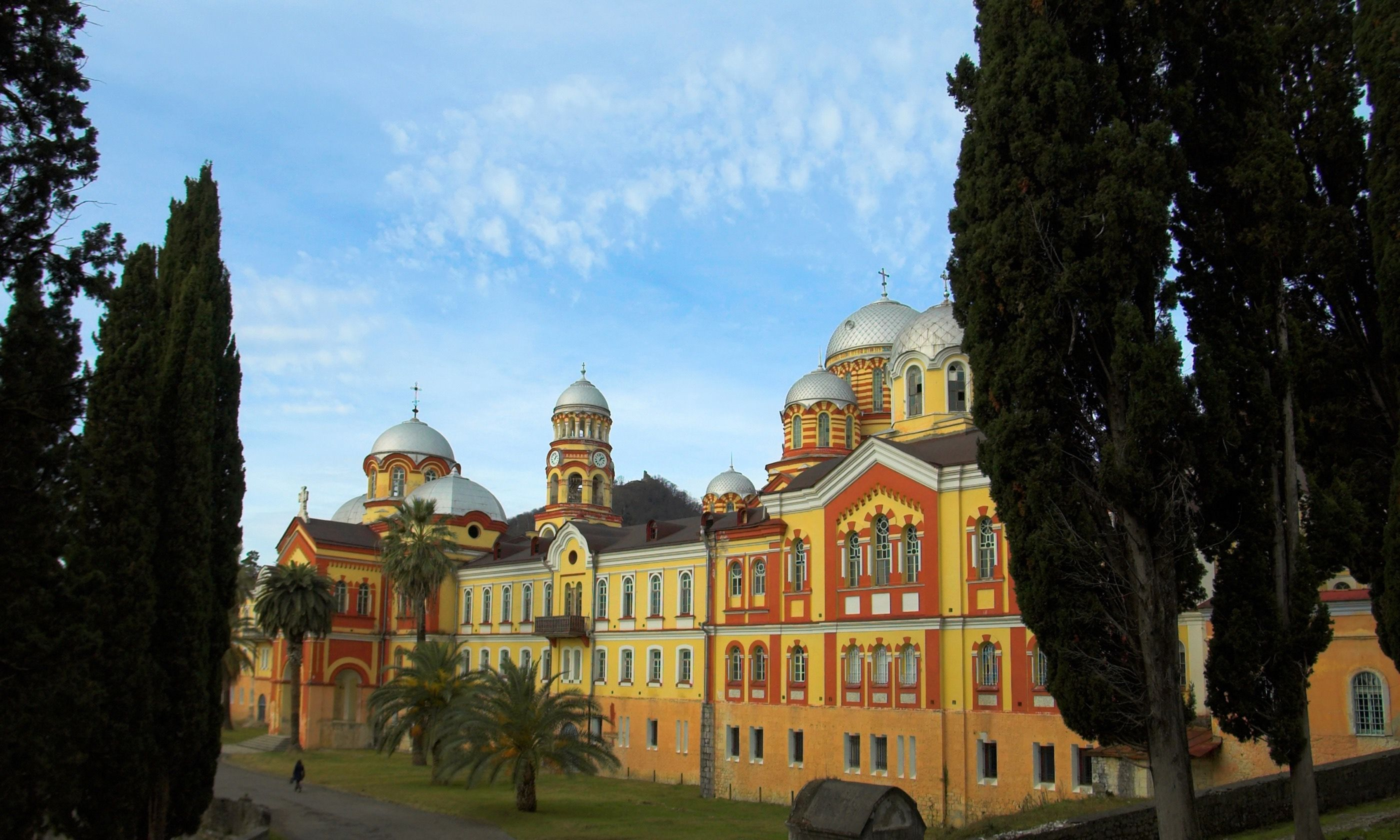 Monastery in New Athos (Dreamstime)
