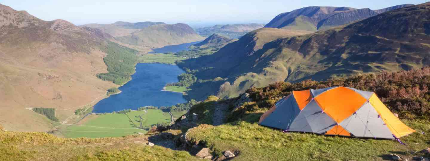 Wild camping overlooking Late Buttermere (Shutterstock: see credit below)