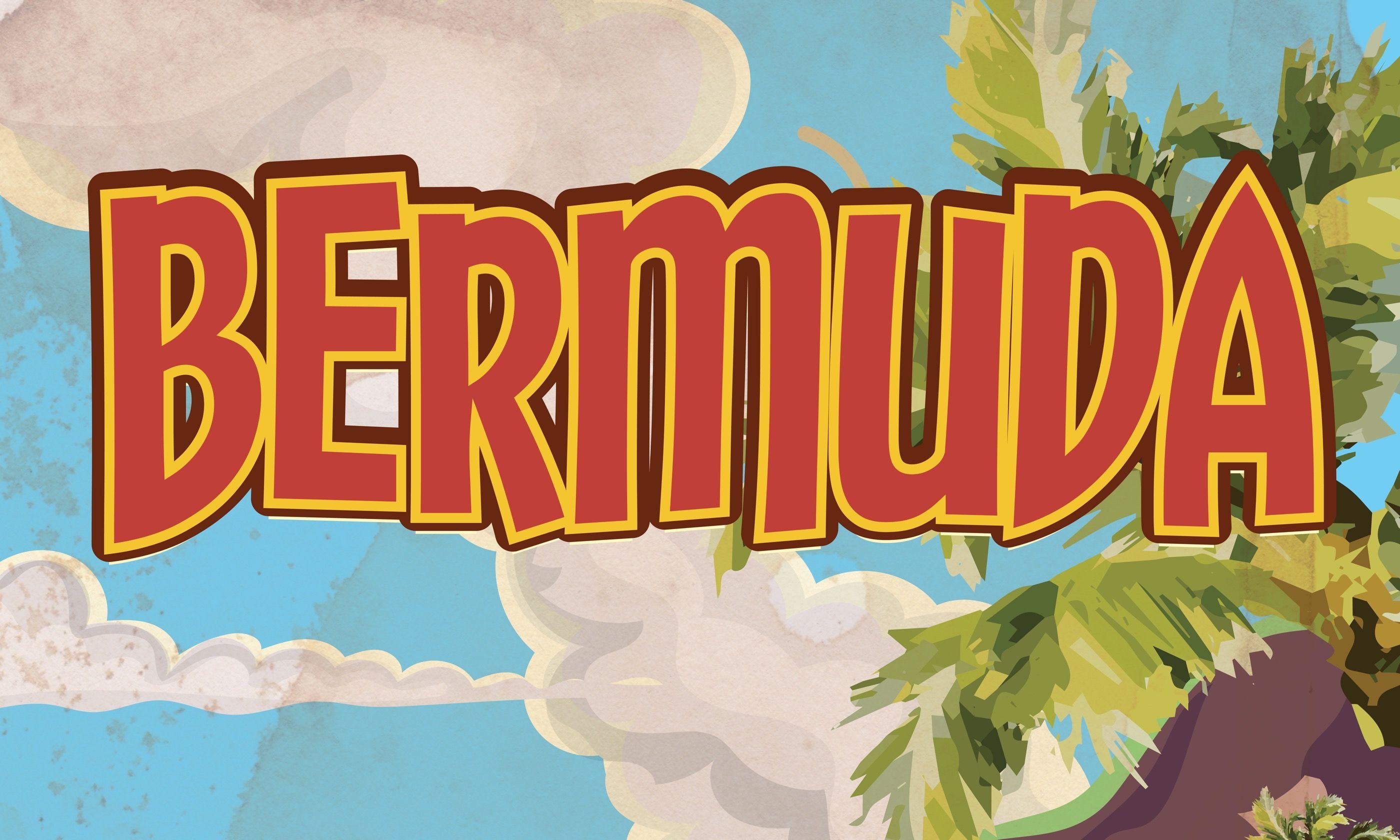 Vintage Bermuda poster (Shutterstock.com)