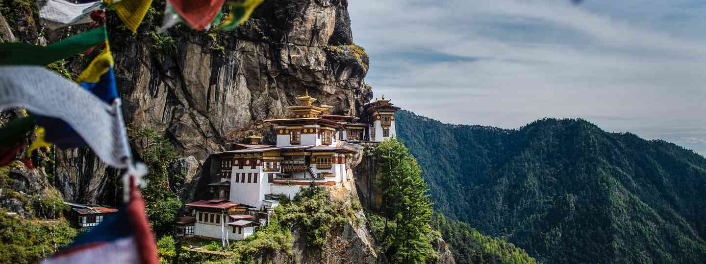 Taktsang Monastery on the side of the upper Paro valley, Bhutan (Shutterstock.com. See main credit below)