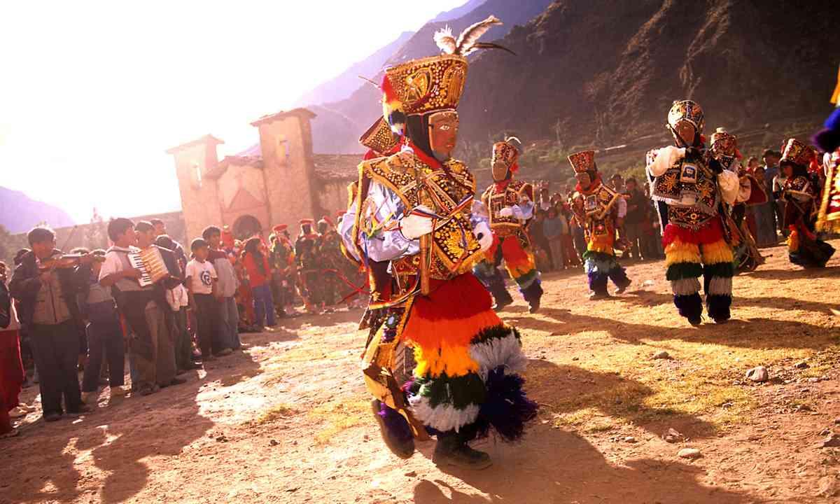 A local festival in Peru (Dreamstime)