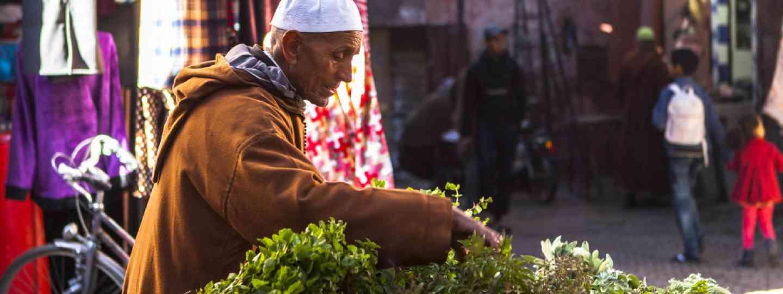 Morocco souk (Dreamstime)