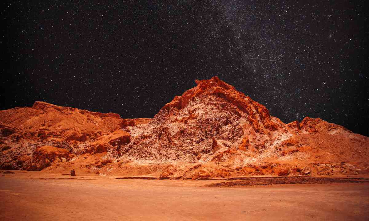 Night skies in the Atacama desert (Dreamstime)