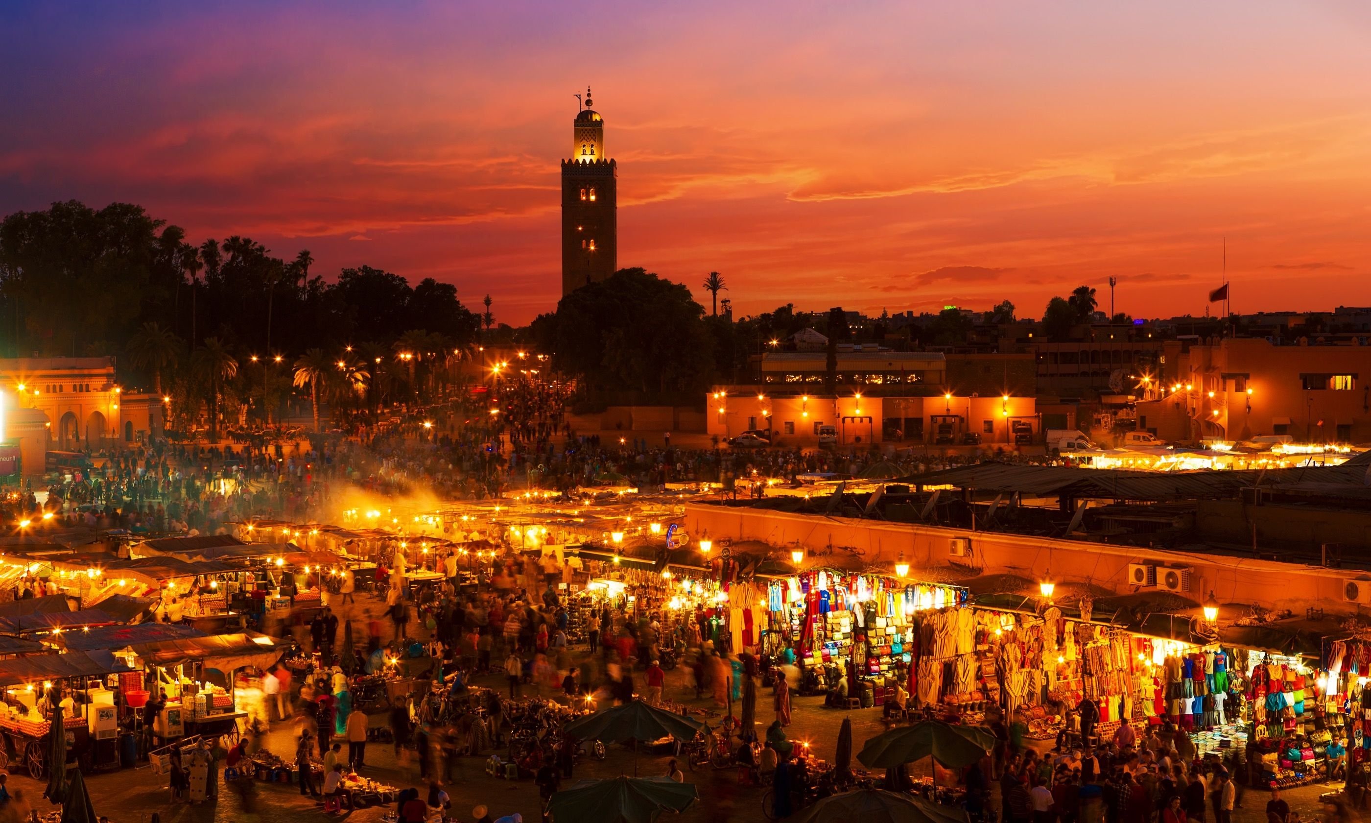 Sunset in Marrakech (Shutterstock.com)