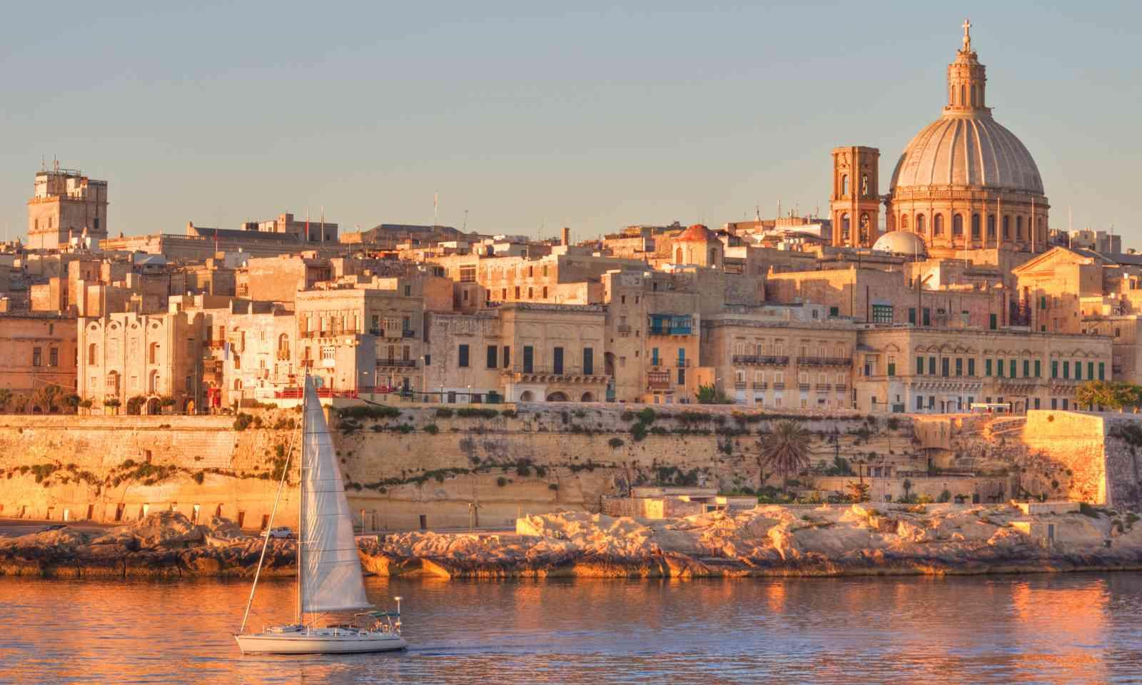 Valletta, Malta (Dreamstime)