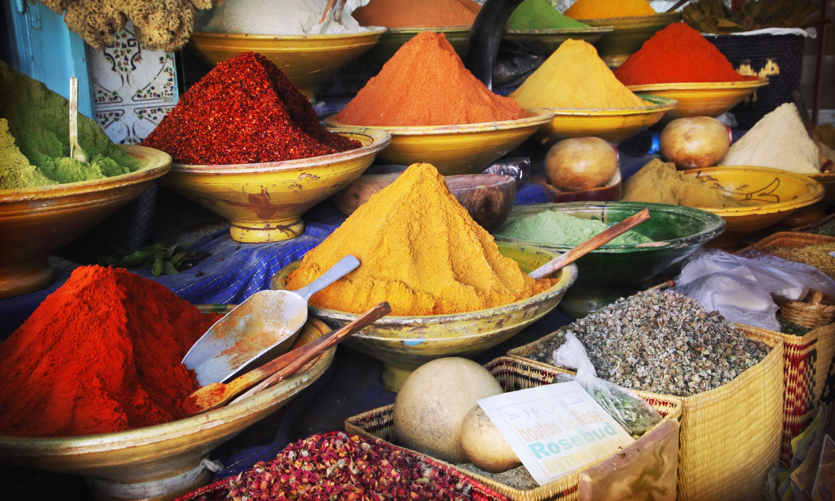 Spice market, Fes (Shutterstock.com)