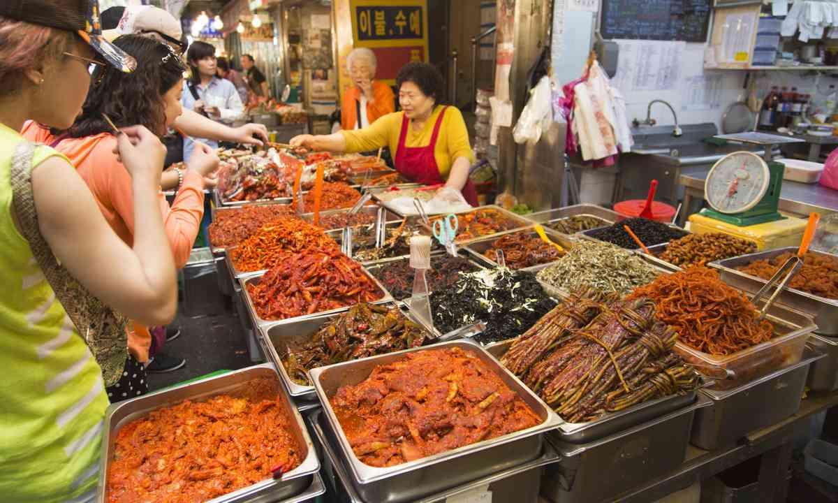 Gwangjang Market in Seoul (Dreamstime)