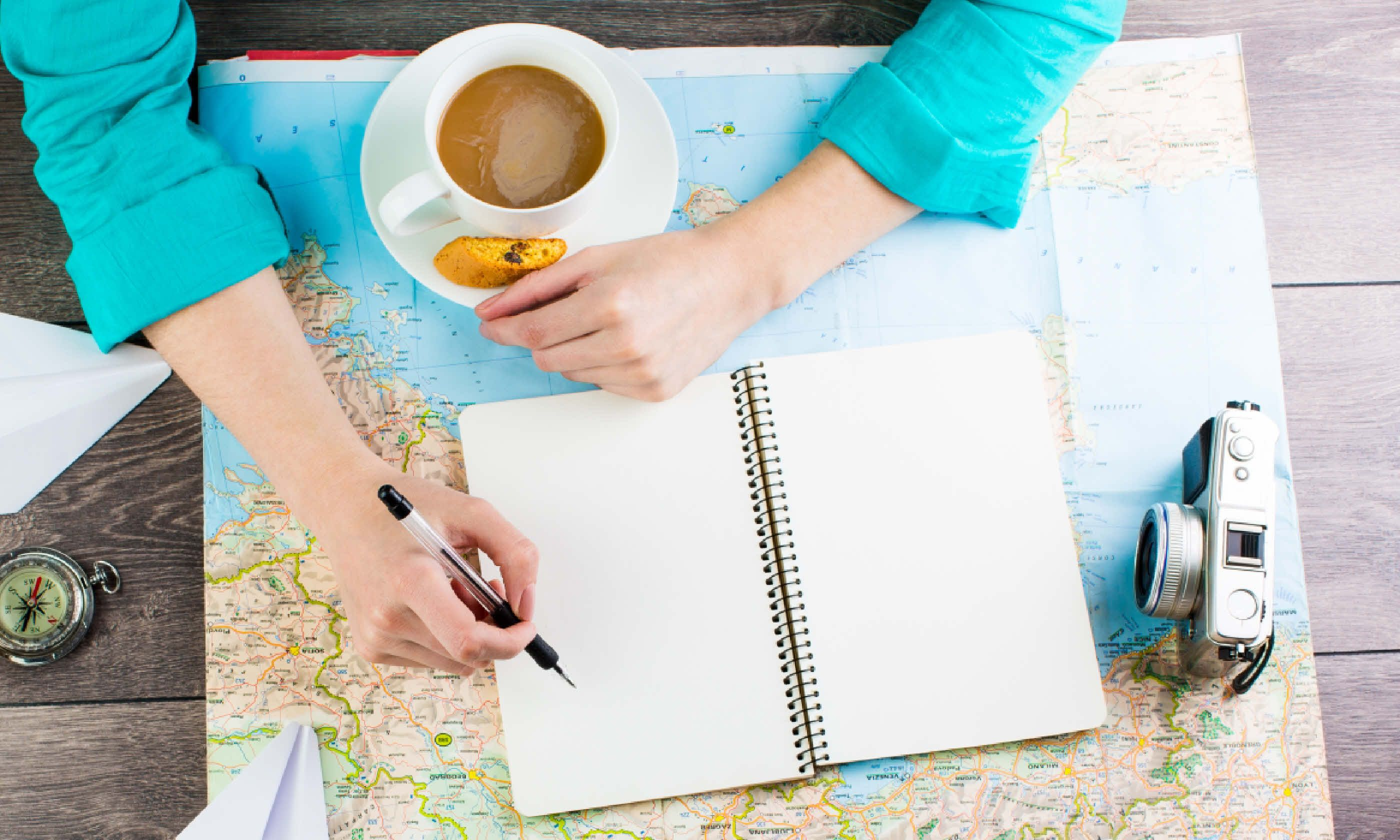 Planning travel (Shutterstock)