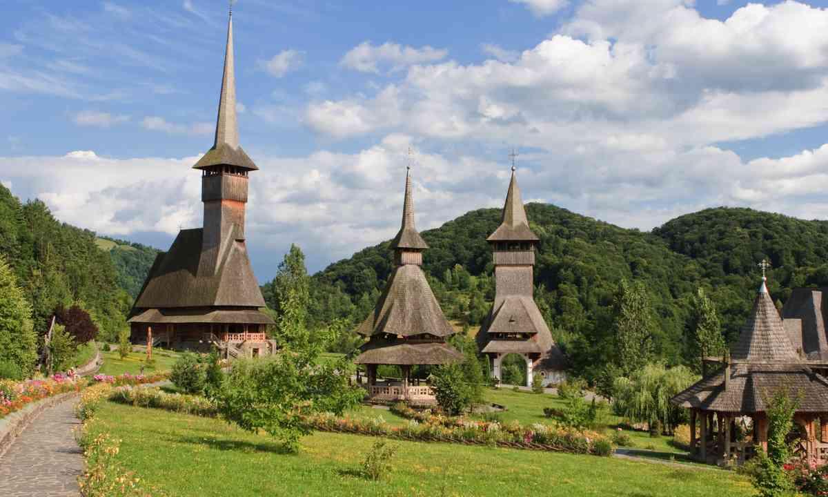 Barsana monastery (Dreamstime)