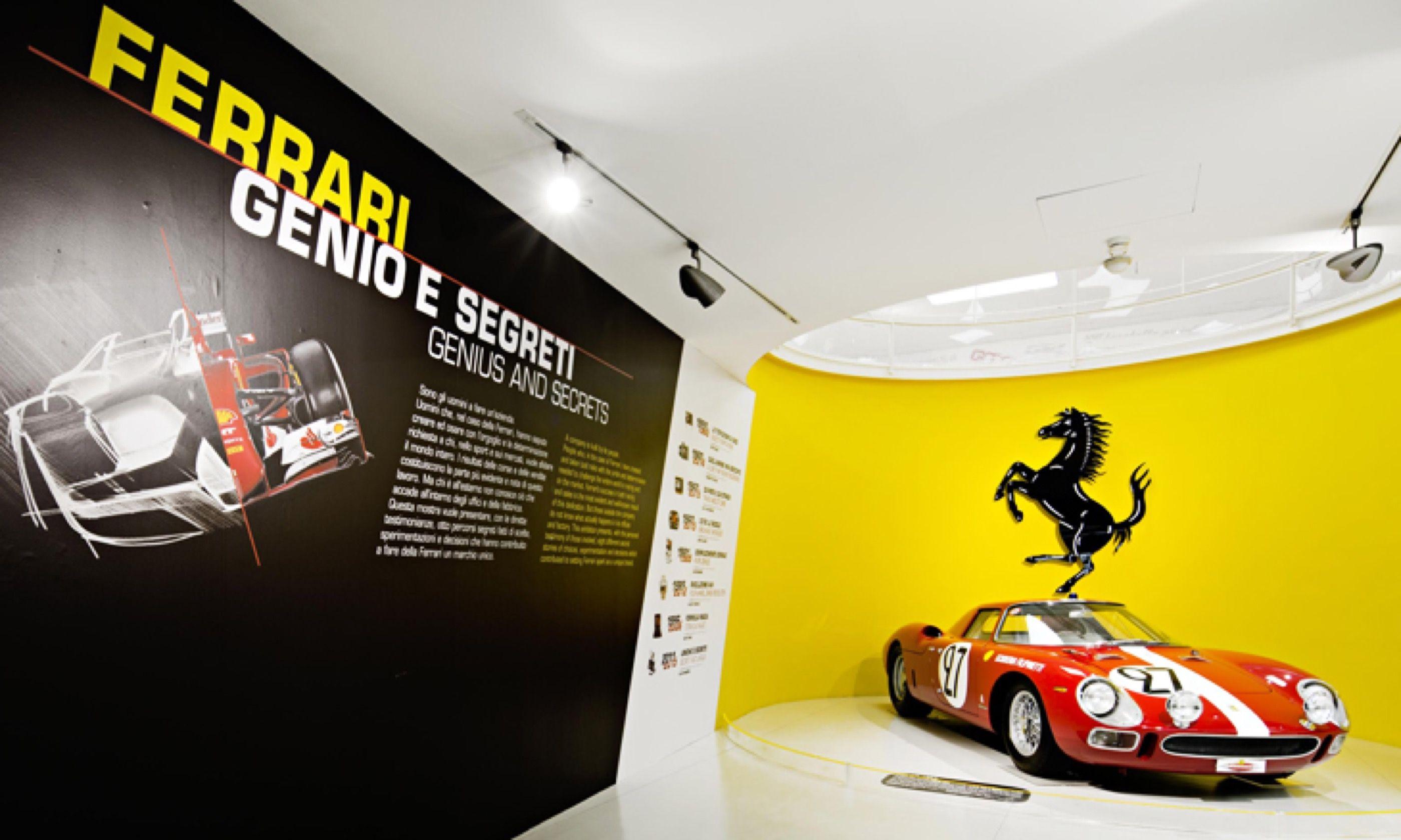 Inside the Ferrari Museum at Maranello (Ferrari.com)