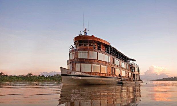 Amazon cruise ship (Mundy Adventures)