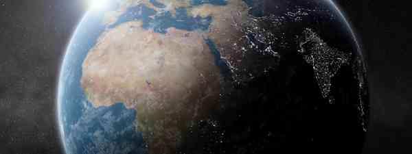 Earth night map (Shutterstock.com. See main credit below)