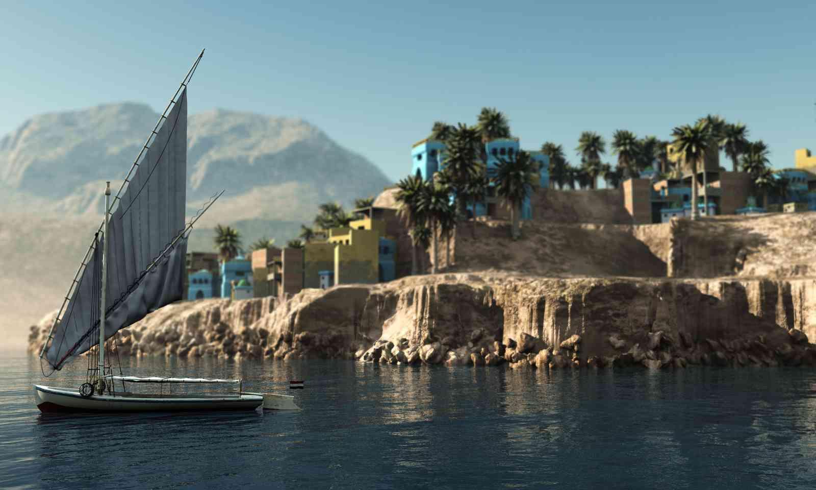 Felucca on the Nile (Shutterstock.com)