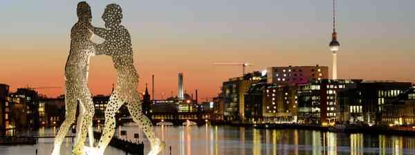 Grappling men, Berlin (Shutterstock.com. See main credit below)