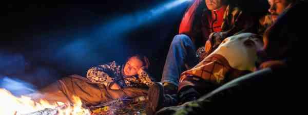 Campfire headtorches (Shutterstock)