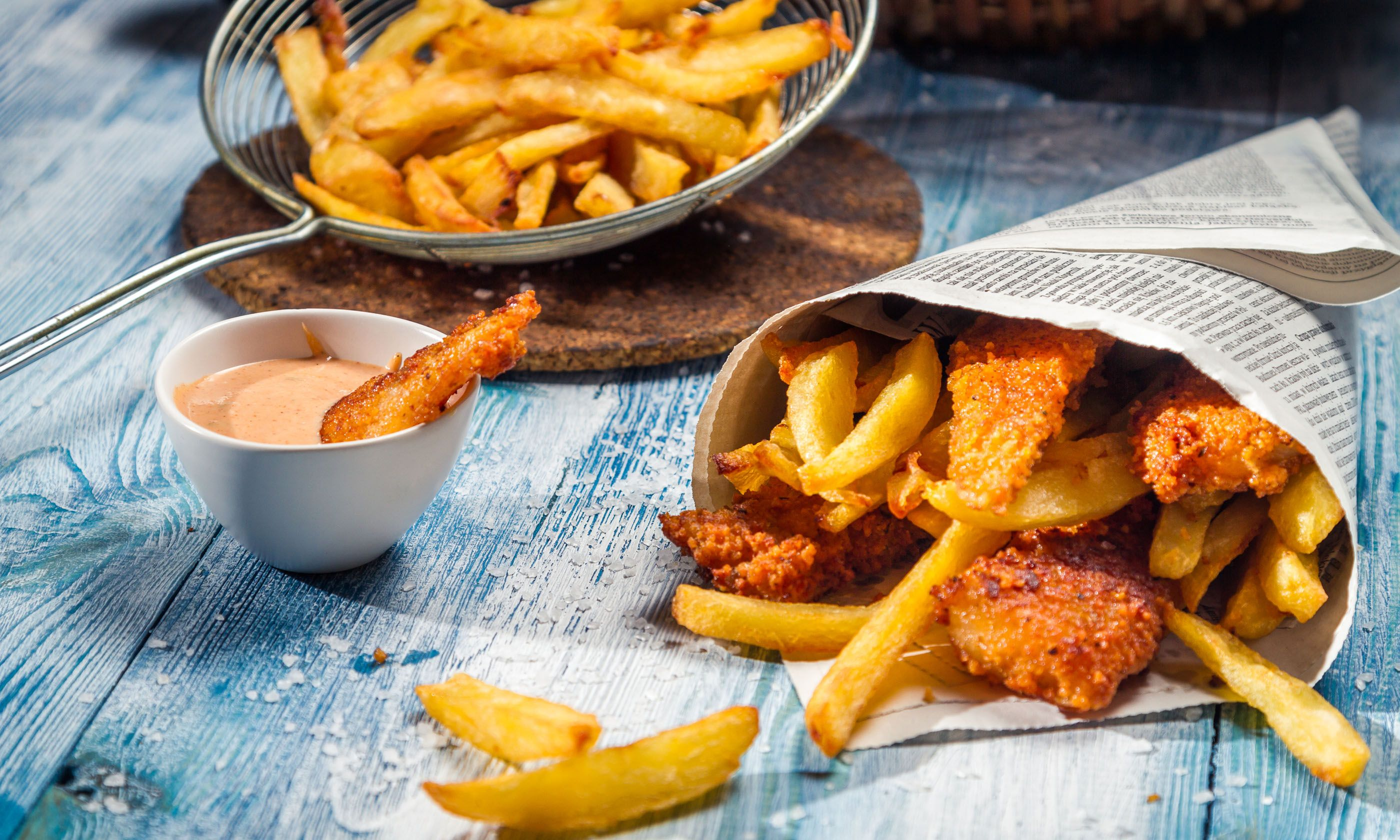 Fish and chips (Shutterstock.com)