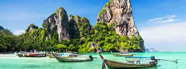 Boats in Thailand (Shutterstock)