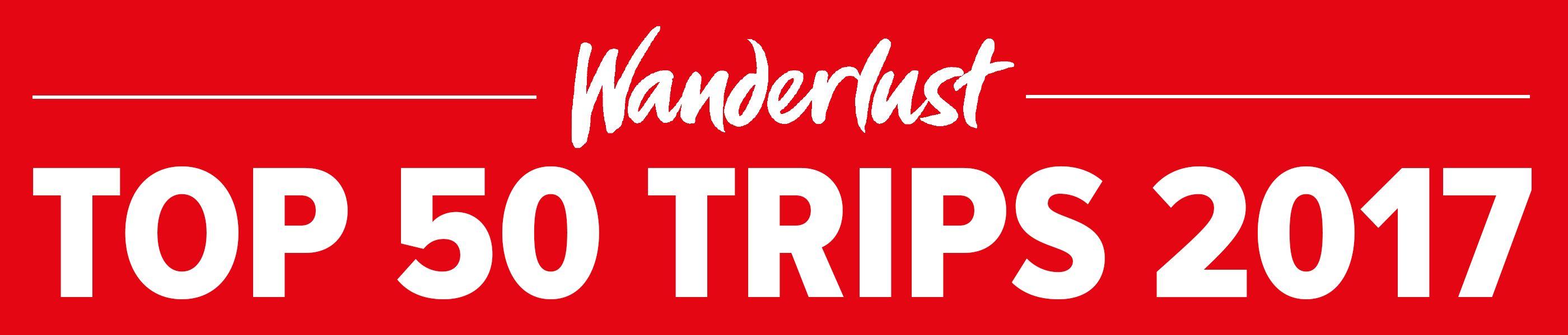 Wanderlust Top 50 trips 2017
