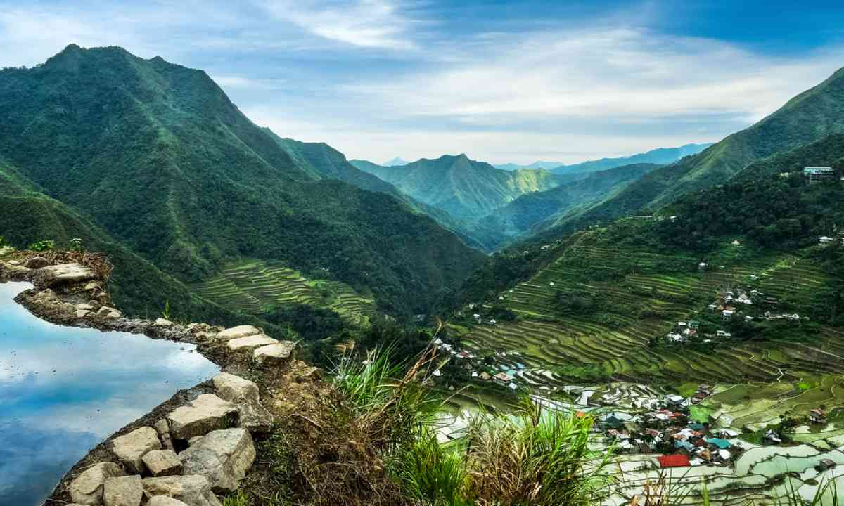Rice terraces fields in Ifugao province (Dreamstime)