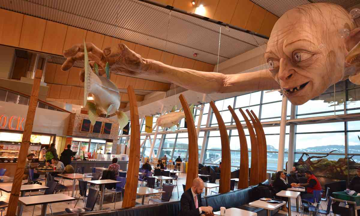 Gollum on the ceiling (Dreamstime)