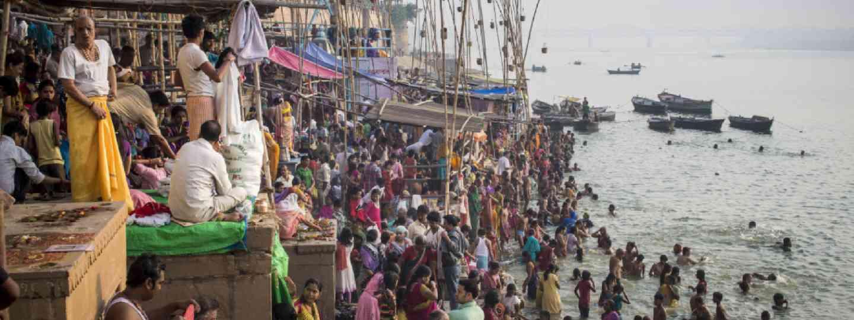 Usha Arghya, Varanasi, India (Christopher Roche)