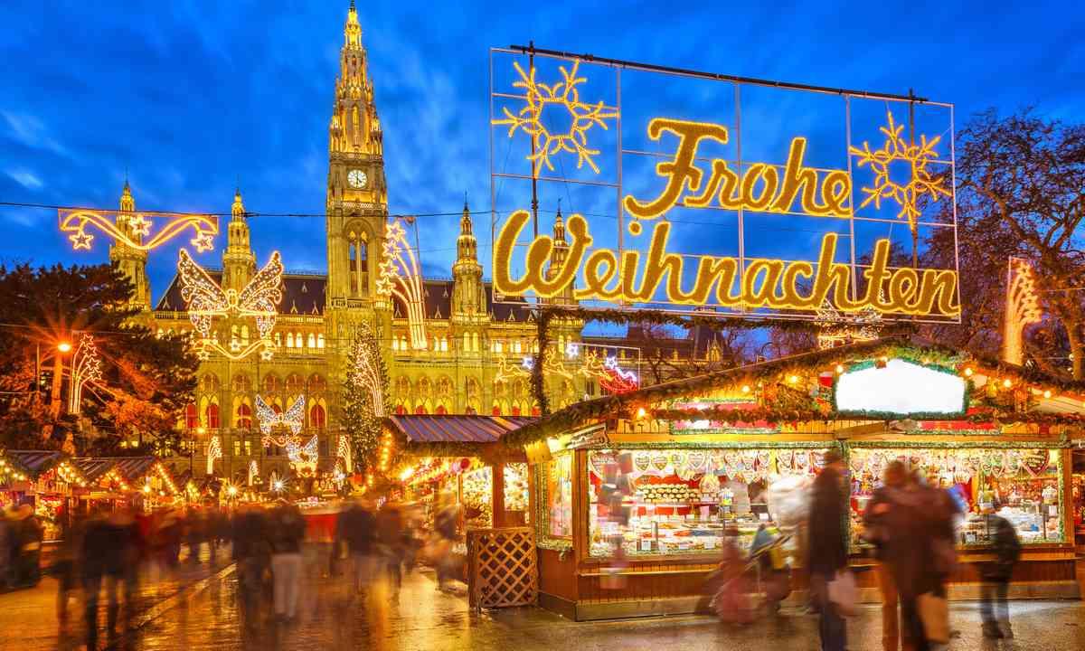 Christmas market in Vienna (Shutterstock.com)
