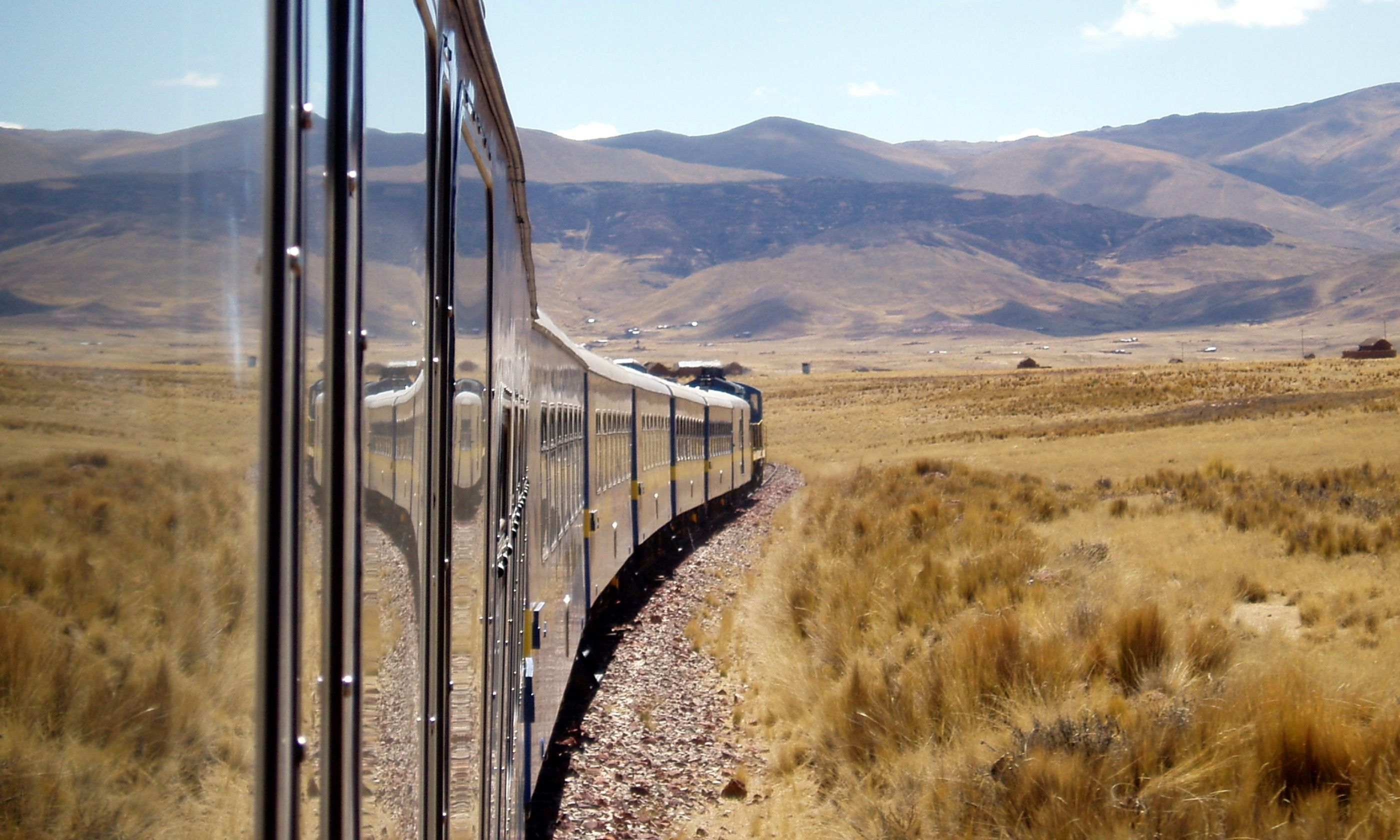 The train from Puno to Cusco (Dreamstime)