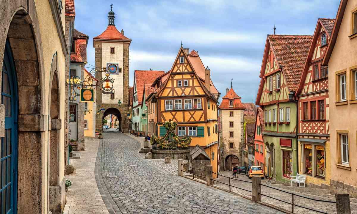 Rothenburg ob de Tauber (Shutterstock.com)
