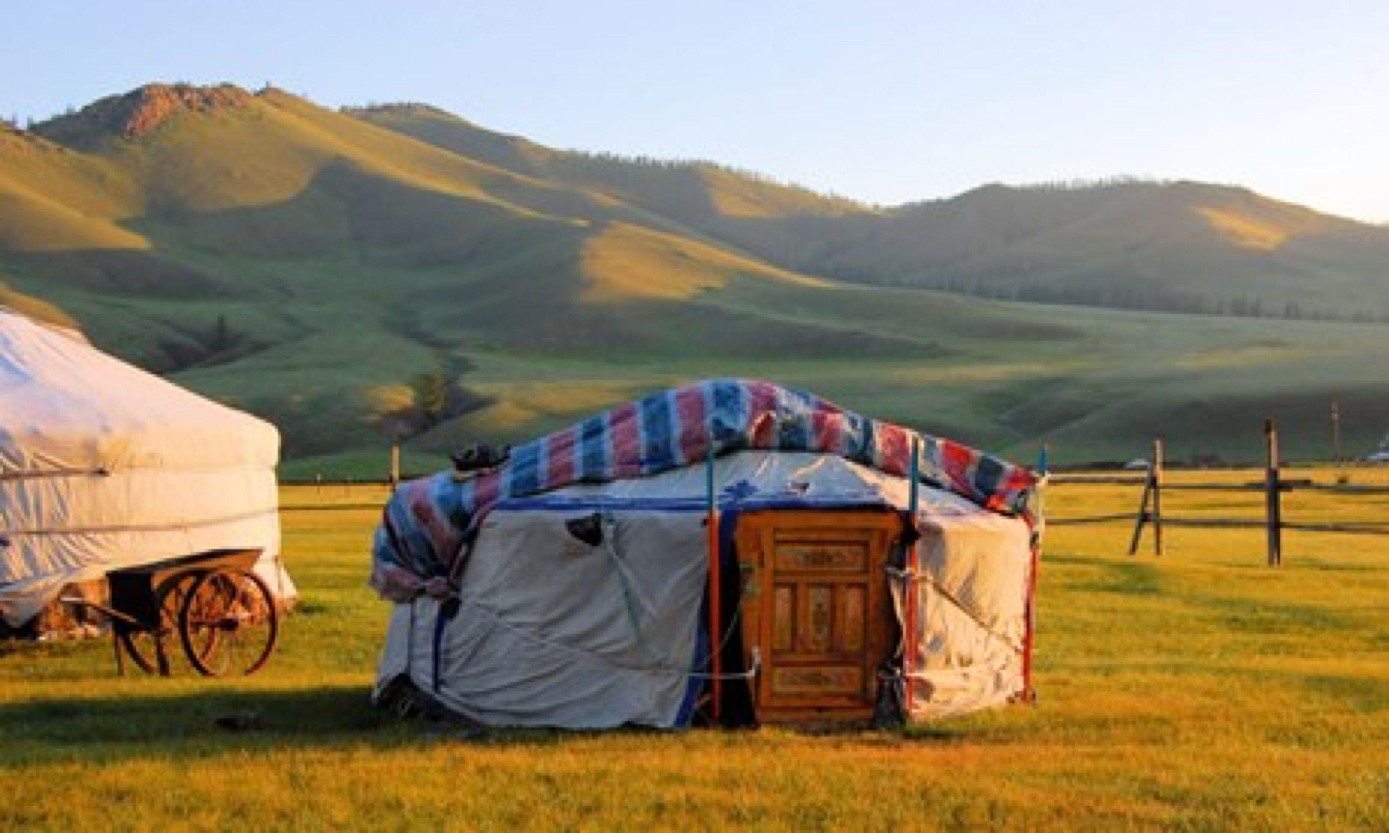 Traditional ger tent (Shutterstock.com)