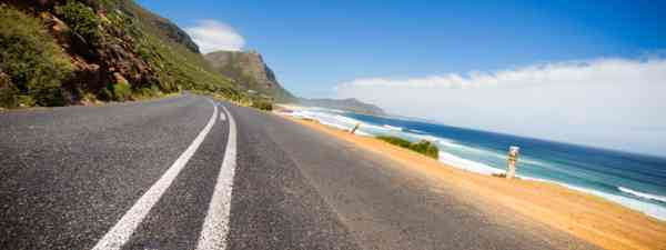 On the road in South Africa (Shutterstock)