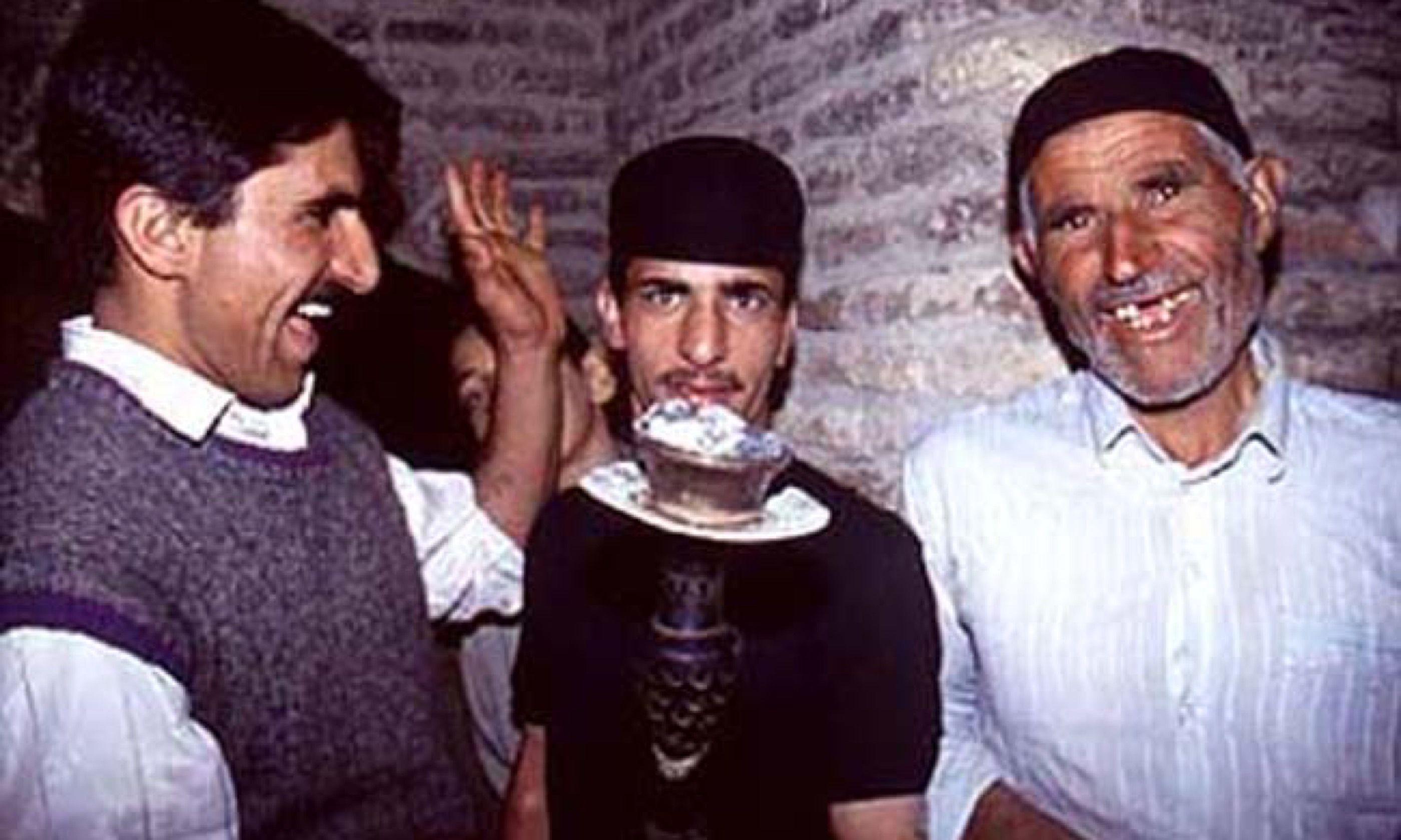 Happy chaps in Esfahan (Peter Moore)