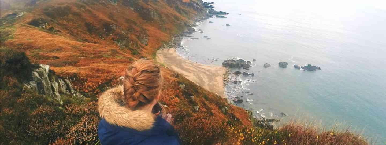Emma Higgins exploring Inishowen in Ireland